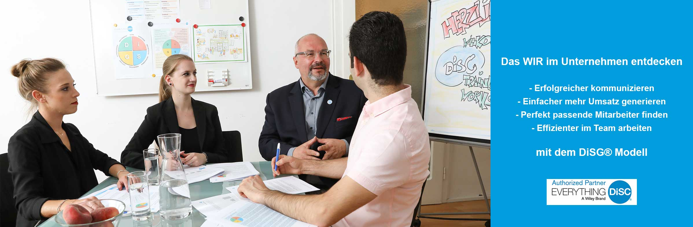 Mit Everything DiSG® das WIR in Unternehmen entdecken